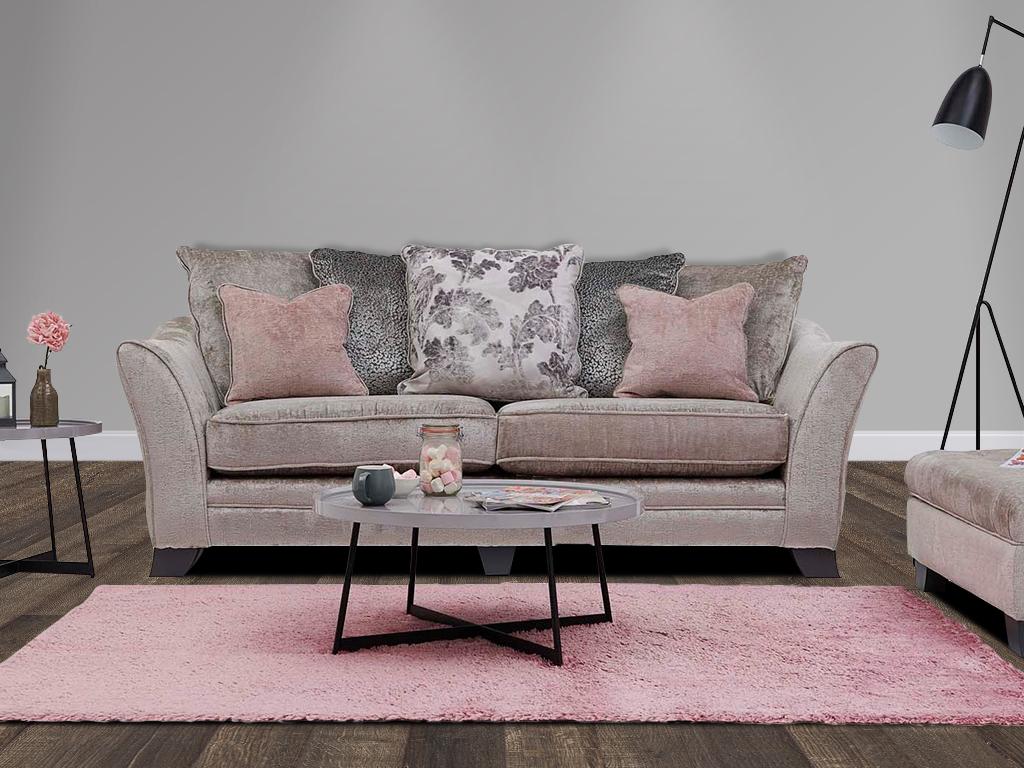 Ashley Manor Lauren Fabric Sofa