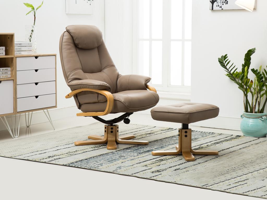 Pisa Swivel & Recliner Chair