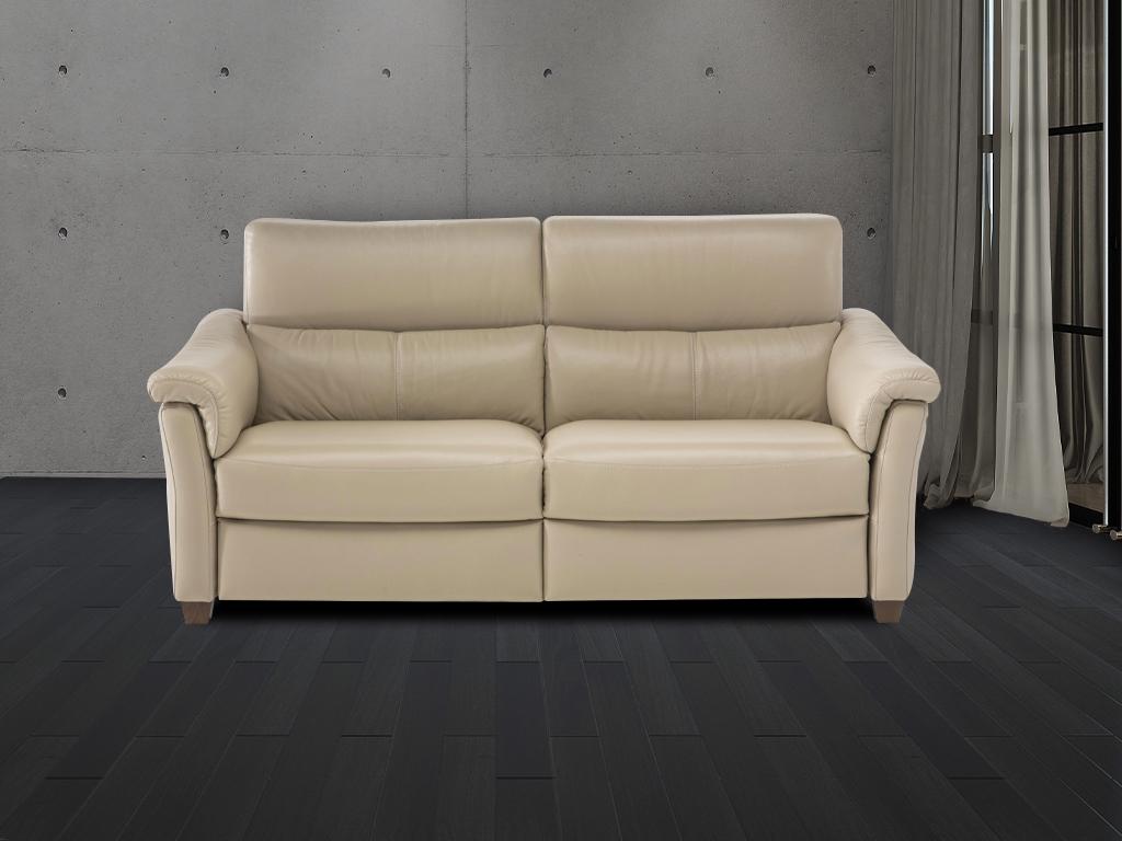 Natuzzi Inca Leather Sofa