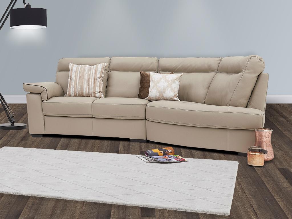 Nattuzzi Liverno Leather Sofa Collection