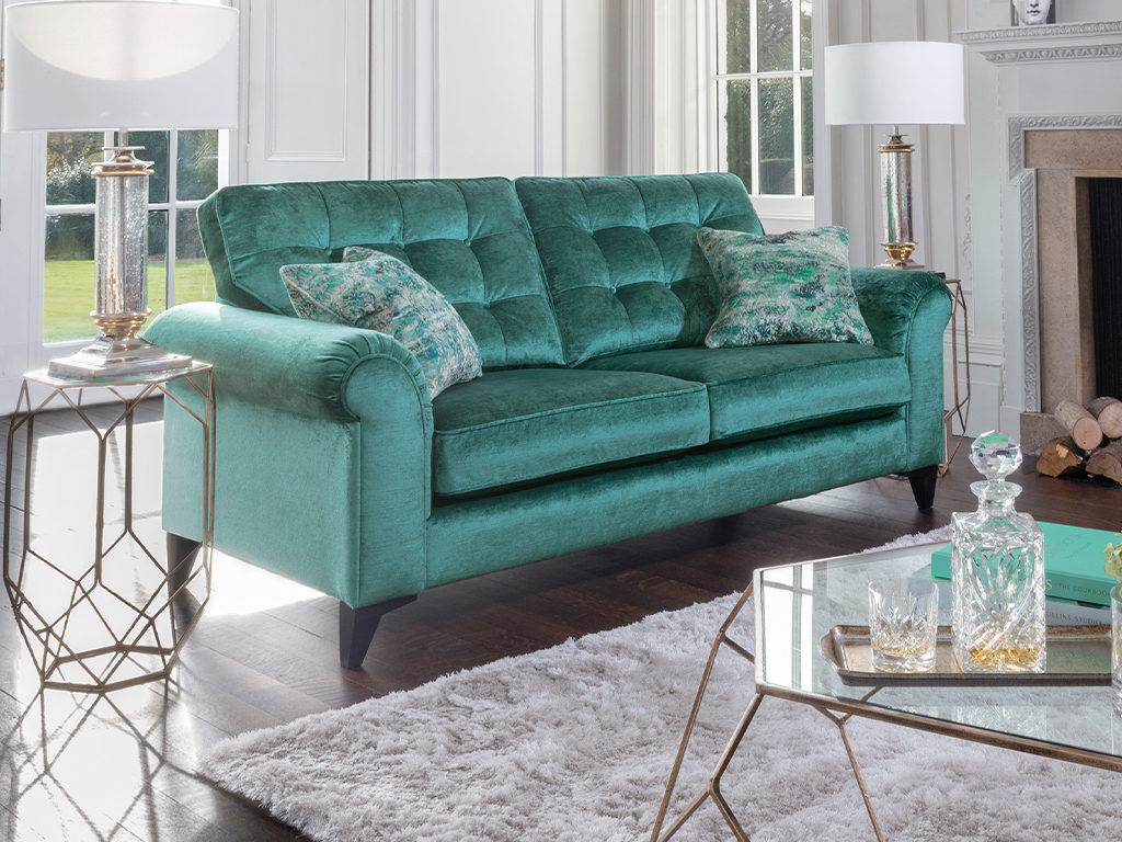 Alstons Esher Fabric Sofa